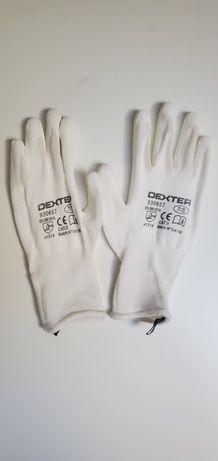 Luvas de Precisão Brancas Dexter