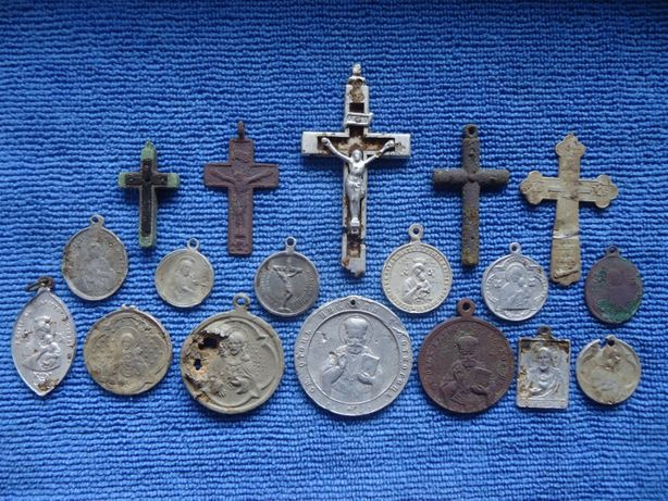 Солдатские Кресты и Ладанки ПМВ