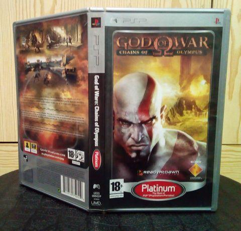 Jogo God of War - Chains of Olympus, para Playstation Portable PSP