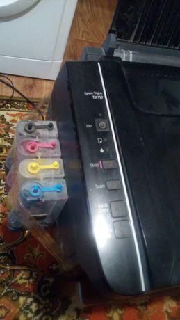 Продам принтер 3 в 1 Epson TX 117