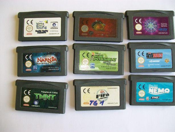 Gry na Game Boy ADVANCE różne tytuły GBA