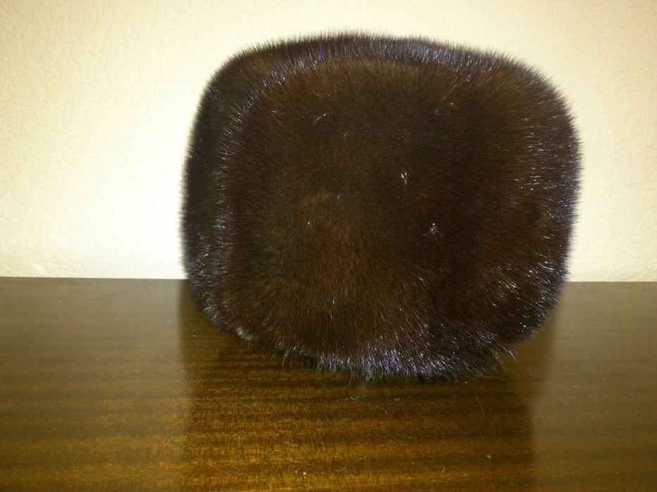 Норковая шапка мужская