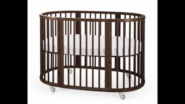 Детская кроватка Stokke оригинал, 4 в 1 полная версия