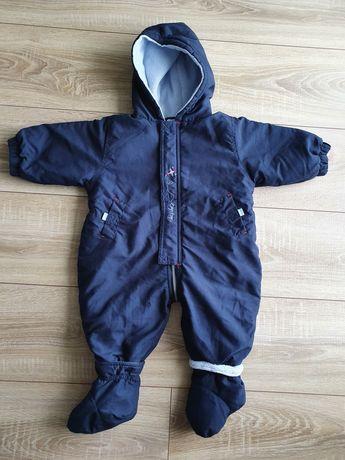 Kombinezon zimowy niemowlęcy rozmiar 68