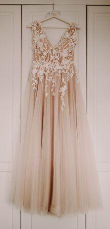 Suknia ślubna La Petra Una 3D, r. 38 - 40