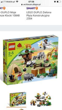 Lego DUPLO safari + taca zielona
