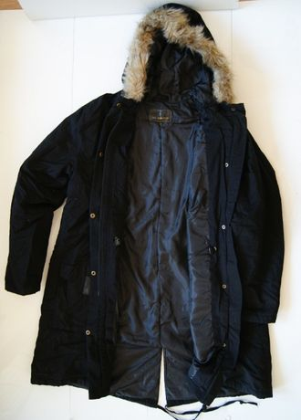 Roz. 48 XXL XL Nowa Kurtka Zimowa Ocieplana B.P.C colection black