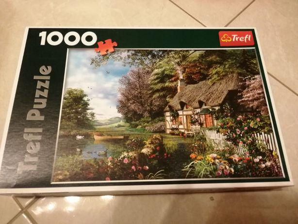 """Puzzle Trefl 1000 """"Uroczy zakątek"""""""
