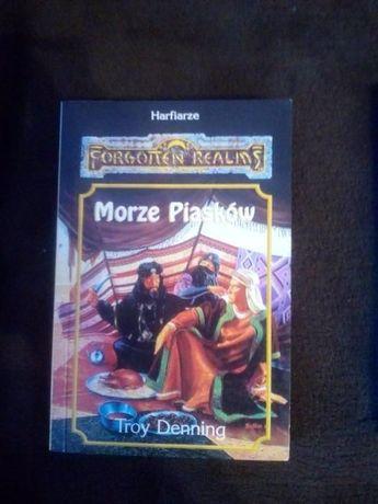 """Forgotten Realms"" Troy Denning ""Morze piasków"""