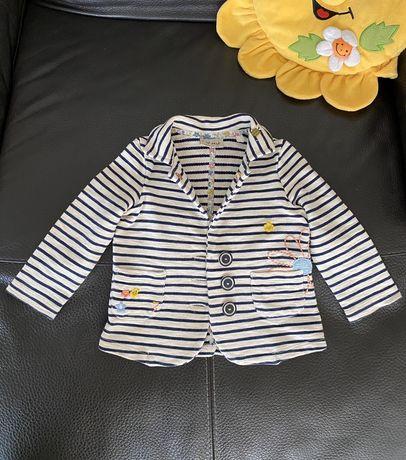 Кофта жакет пиджак Next 2-3 год