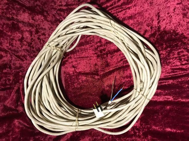 Кабель (провод) электрический двухжильный ПВС 2х2,5 мм. Длинна 33