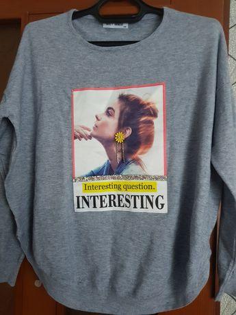 Кофта свитер реглан
