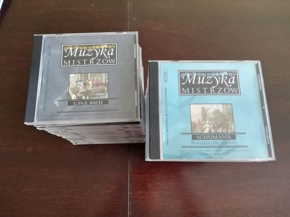 "Kolekcja płyt CD ""Muzyka mistrzów"" Leszno - image 1"