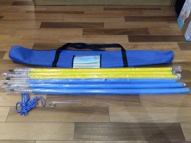 Romeo Agility tyczki do slalomu dla psów NOWE 6 sztuk