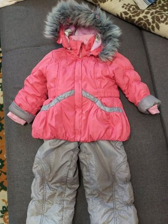 Зимний костюм на девочку 4-5 лет. Зимняя курточка.
