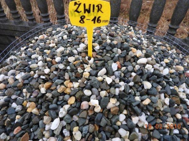 K0 ŻWIR PŁUKANY do OGRODU i na drenaż otoczak żwirek kamień grys