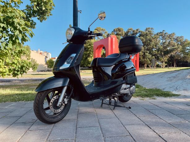 Scooter SYM Fiddle II 125cc (inclui capa termoscud)