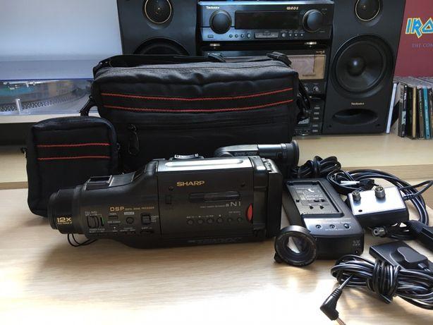 Kamera SHARP VL-N1S Japan rarytas vintage komplet torba wysyłka.