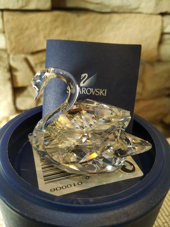 Kryształ Swarovskiego figurka Łabędź.