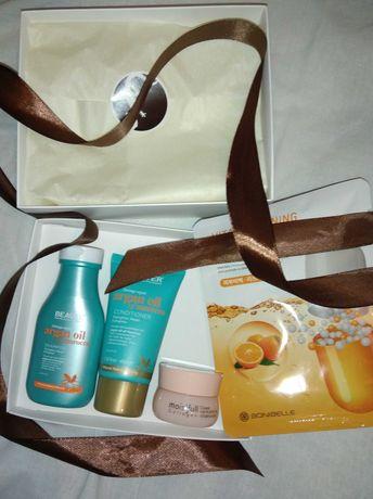 Подарок шампунь кондиционер argan oil маска крем коллаген etude house