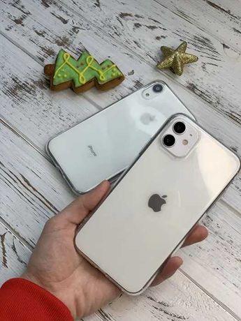 Прозрачный чехол iPhone 5/6/7+/8/X/Xr/Xs/11/11 Pro Max l Silicone Case