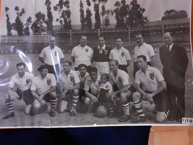 fotografia original equipa de futebol dos trabalhadores do cinema EDEN