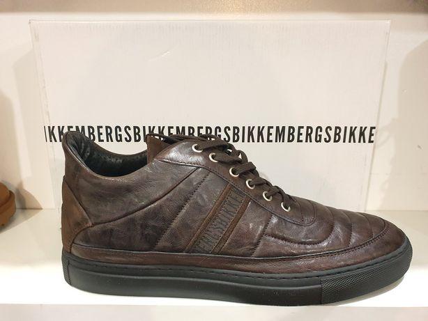 Sneakersy ze skóry naturalnej Bikkembers meskie