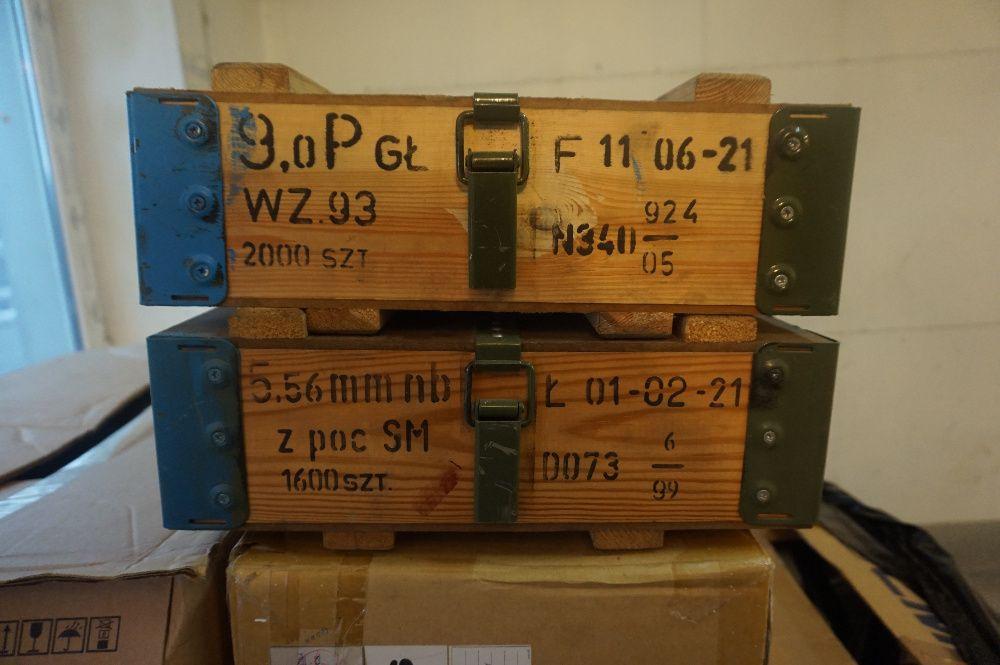 Skrzynia wojskowa drewniana, wz.43 N2 kufer ,walizka, loft, 40x35x15 Toruń - image 1