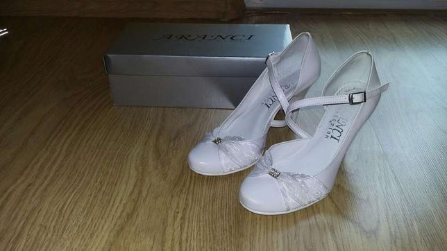 Buty ślubne marki Aranci- rozmiar 38
