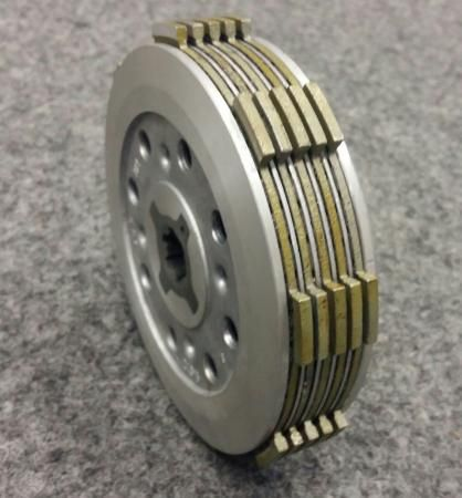 YBR 125 сцепление ведомый диск нажимной yamaha юбр 125