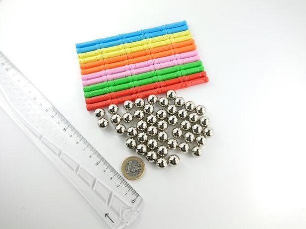Nowe klocki magnetyczne XMAG2 kompatybilne z GEOMAG 105 elem.