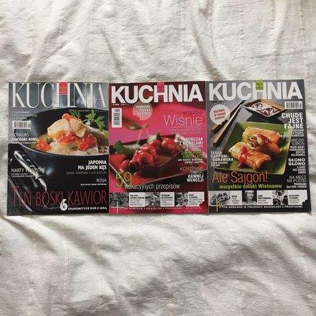 Magazyn Kuchnia rok 2009 nr 1; 3; 8