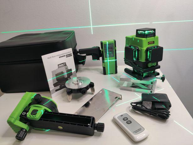 Nivel Laser auto-nivelante 16 Linhas verde com RECEPTOR (50-60 metros)