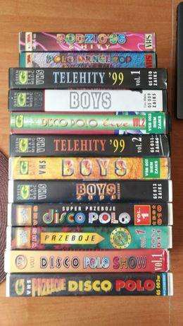 Disco Polo VHS teledyski, videoklipy - unikaty