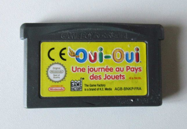 Nintendo Game Boy Advance - OUI-OUI (NODDY) (Só Cartucho)