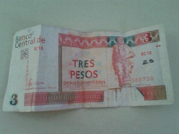 "Nota de Cuba - Pesos Convertíveis ""Che Guevara"""