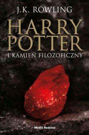Harry Potter i Kamień Filozoficzny - J.K. Rowling (edycja czarna)