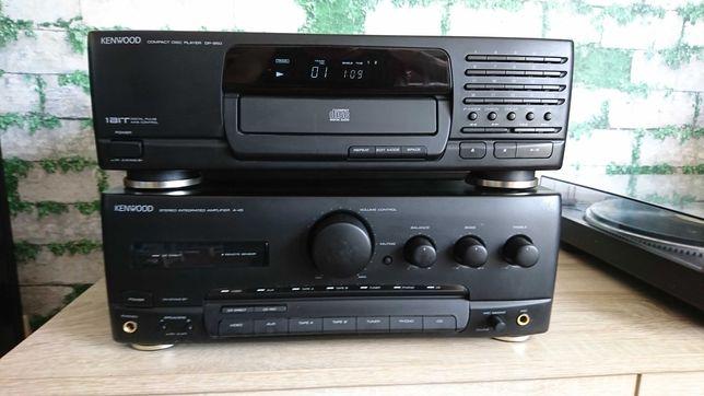Wzmacniacz KENWOOD A-45 + cd DP-950 + midi wieża