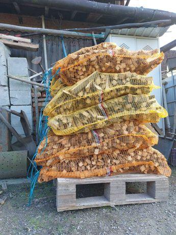 Suche drewno na rozpałkę w workach! HIT