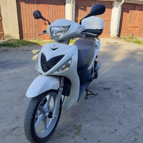 Suzuki Sixteen 125cm3 jak nowy, 4400 km,  POLECAM