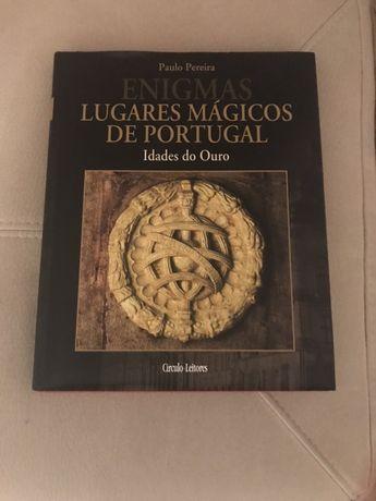 Livros - Coleção Enigmas, Lugares Mágicos de Portugal