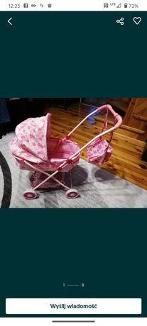 Wózek dla lalek koszyk torba