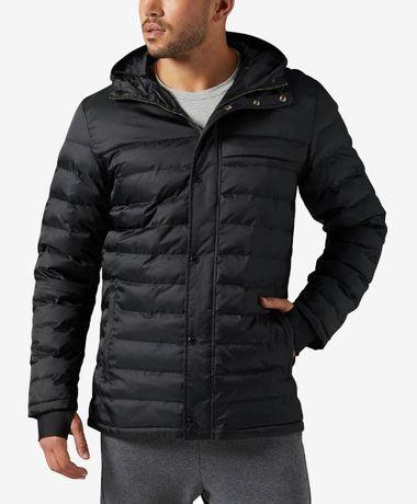 Продам утеплённую куртку Reebok Classic оригинал отличное состояние