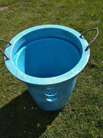 Kosz z sitem na filtr zbiornika oczyszczalni ścieków przydomowej