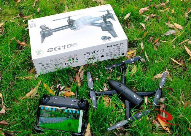 Квадрокоптер SG106 с 4К, до 22 мин полет, Wi-Fi FPW - дрон