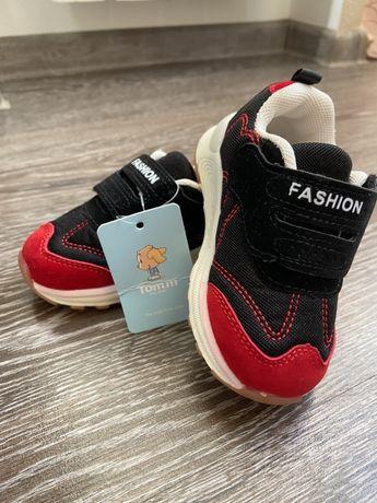 Кроссовки на малыша, Tomm.m, 21 размер, стелька 13 см