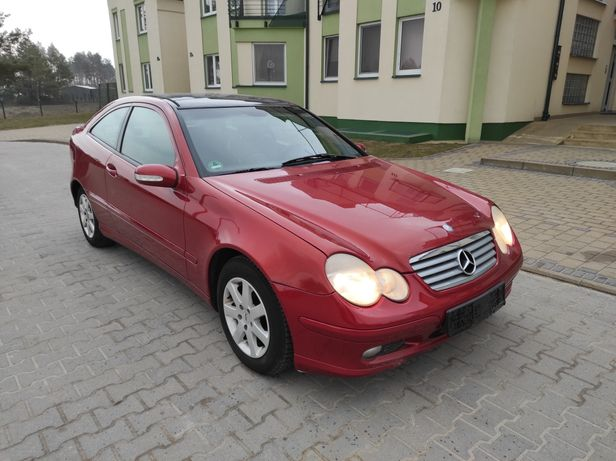 Mercedes W203 *kompresor*panorama*coupe