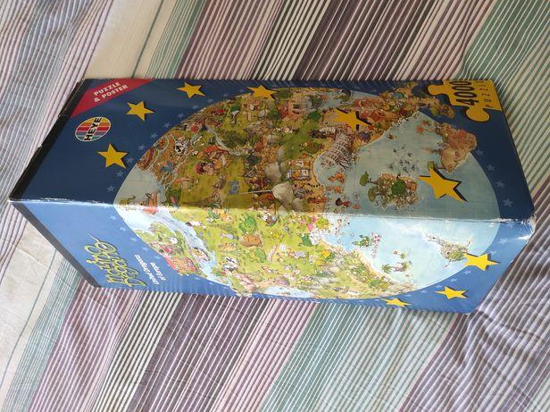 Vários puzzles 1000+ peças