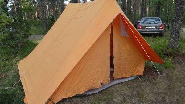 Палатка советских времен