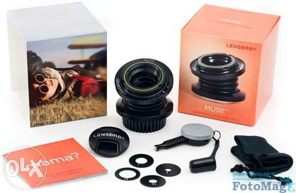 Объектив Lensbaby Muse Double Glass Sony Alpha L (LBM2S) для Sony for